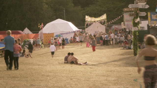 summer festival time lapse - sunny stock videos & royalty-free footage