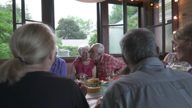 summer gazebo generation family - 60 64 years stock videos & royalty-free footage
