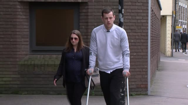 Summer Grant's death a result of failure to properly secure bouncy castle Chelmsford Crown Court Lee Grant along to court on crutches