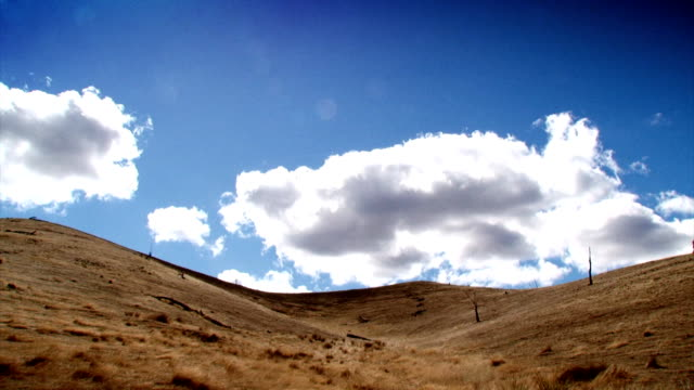 summer hills - cloud lapse (hd 1080p) - hill stock videos & royalty-free footage