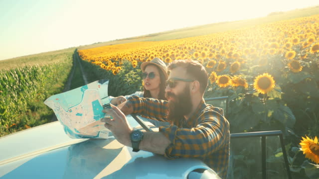 summer idyll - road trip stock videos & royalty-free footage