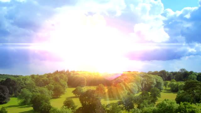 Summer Landscape time-lapse. HD