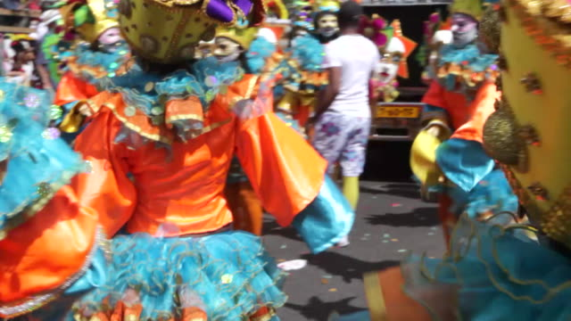 summer or caribbean carnival, rotterdam, netherlands - carnival stock videos and b-roll footage