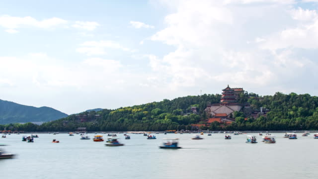 t/l summer palace - summer palace beijing stock videos & royalty-free footage
