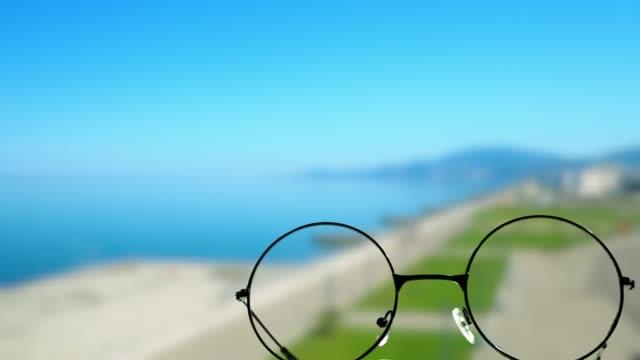 Sommarort genom glasögon