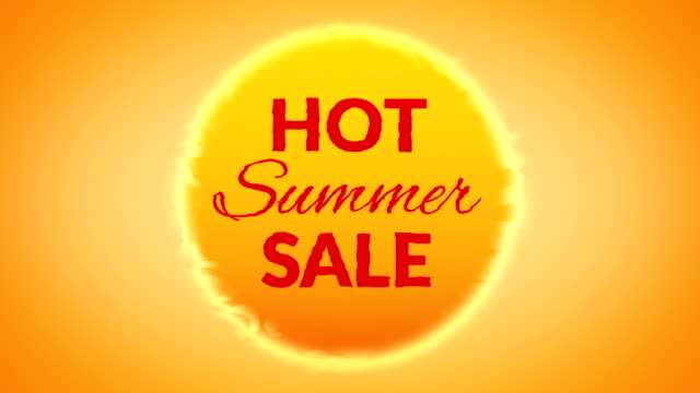 summer sale - sale stock videos & royalty-free footage