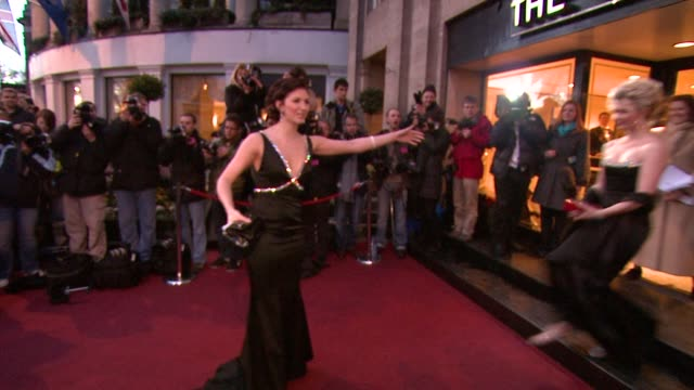 Summer Scarlett Strallen at the The Laurence Olivier Awards at the Grosvenor House in London on March 9 2008