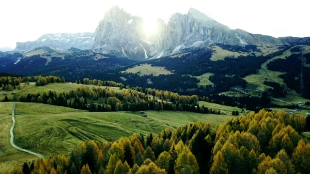 summer scene in south tyrol - seiser alm - european alps stock videos & royalty-free footage