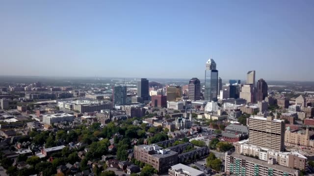 stockvideo's en b-roll-footage met summer time in indianapolis - indiana