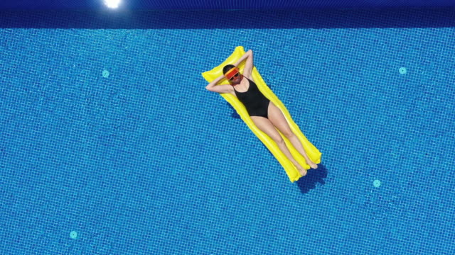 summertime relaxation - bikini stock videos & royalty-free footage