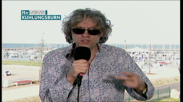 stockvideo's en b-roll-footage met africa aid pledge criticised germany kuhlungsburn int sir bob geldof interview sot communique is laughable / meant to obscure fact they achieved... - bob geldof