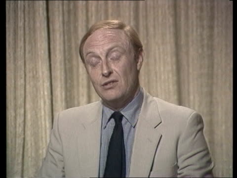 stockvideo's en b-roll-footage met f england london westminster interview sof the best deal that need for expansion cas ex westminster 1mins 01secs tx archive tape cas 26260 6758 to... - neil kinnock