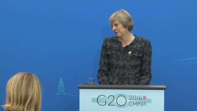 final day of summit / brexit discussion int channel 4 news reporter gary gibbon asking question at theresa may press conference sot re possible harm... - channel 4 news stock videos and b-roll footage