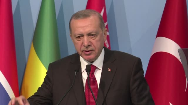 summit in istanbul of muslim heads of state urged the creation of an international force to protect the palestinians - recep tayyip erdoğan stock videos & royalty-free footage