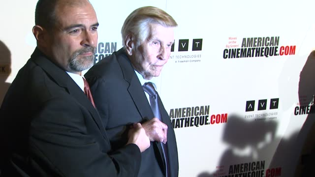 sumner redstone at american cinematheque's 27th annual award presentation honoring jerry bruckheimer in beverly hills ca on - american cinematheque stock videos & royalty-free footage