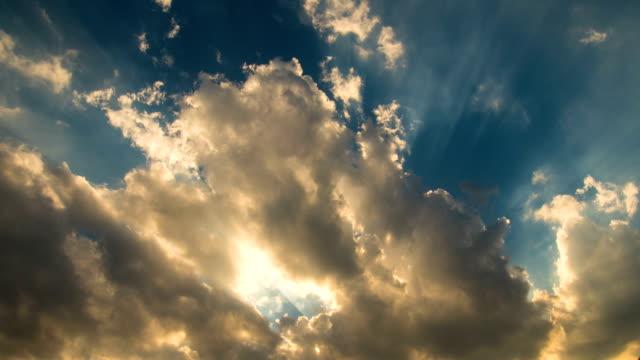 太陽、雲模様 - 宗教点の映像素材/bロール