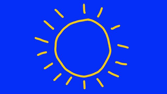 vidéos et rushes de animation solaire - symbole