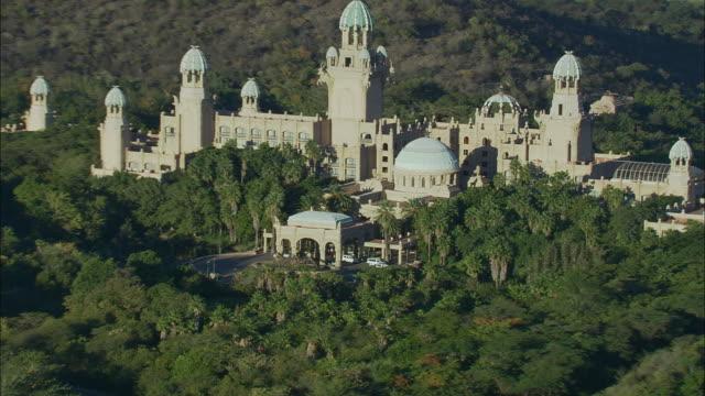 AERIAL WS Sun City casino resort, Pilanesberg Game Reserve, Saulspoort, North West, South Africa