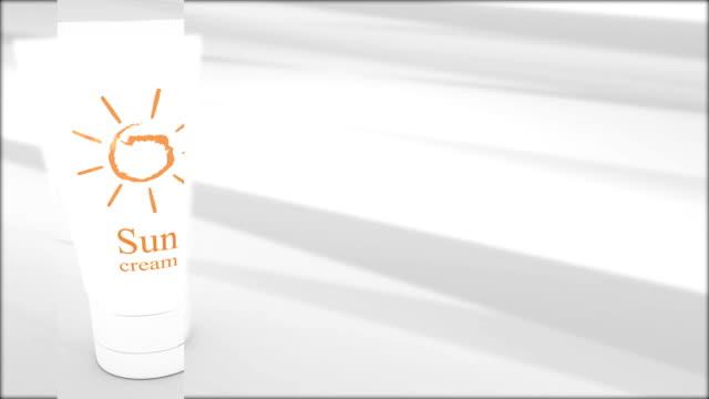 sun cream protect - sun cream stock videos & royalty-free footage