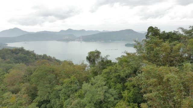 sun moon lake, taiwan - sun moon lake stock videos and b-roll footage