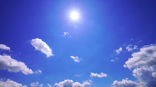 sun on blue sky with clouds - protection stock videos & royalty-free footage