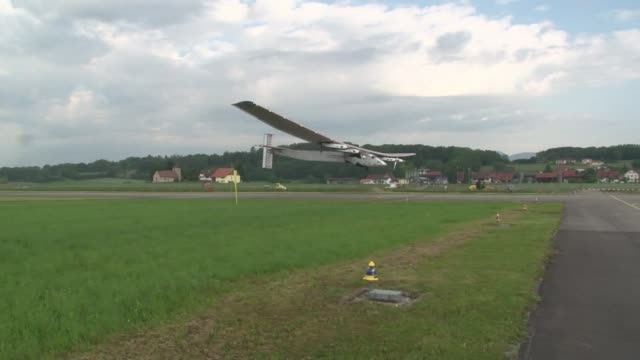 A sun powered plane made a successful test flight on Monday clearing a vital hurdle towards its goal of a round the world trip next year its pilot...