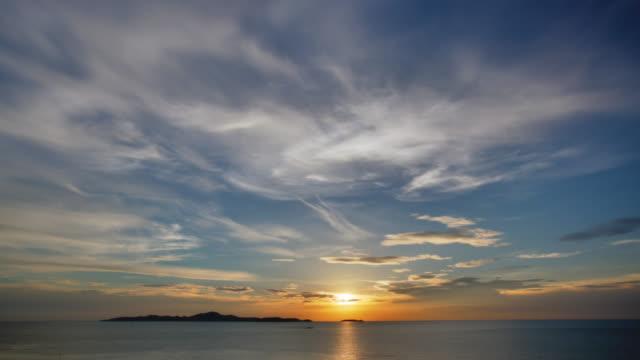 sun rises over sea - cyprus island stock videos & royalty-free footage