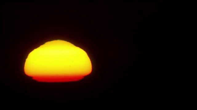 景観上昇る太陽 - バーデン・ビュルテンベルク州点の映像素材/bロール