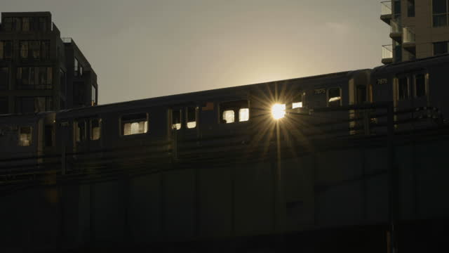 sun shining through subway train - underground train stock videos & royalty-free footage