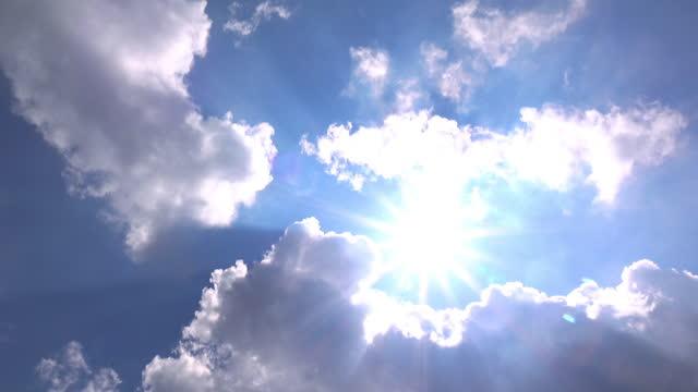 sun sky cloud. - video stock videos & royalty-free footage
