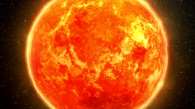 sun surface and solar system - nuclear energy stock videos & royalty-free footage