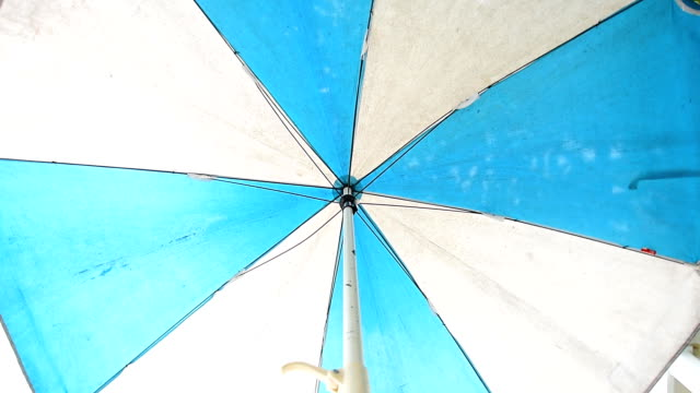 sun umbrella - parasol stock videos & royalty-free footage