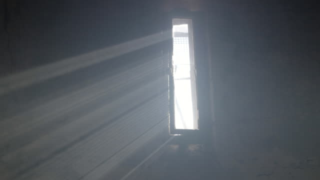 MS Sunbeam coming through window in Hoa Lo Prison / Eastern State Penitentiary Historic Site, Philadelphia, Pennsylvania, United States