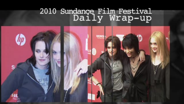 sundance film festival daily wrap-up: 1/25/10 - 2010 stock videos & royalty-free footage
