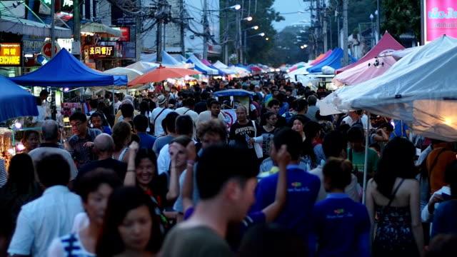 Sunday market walking street