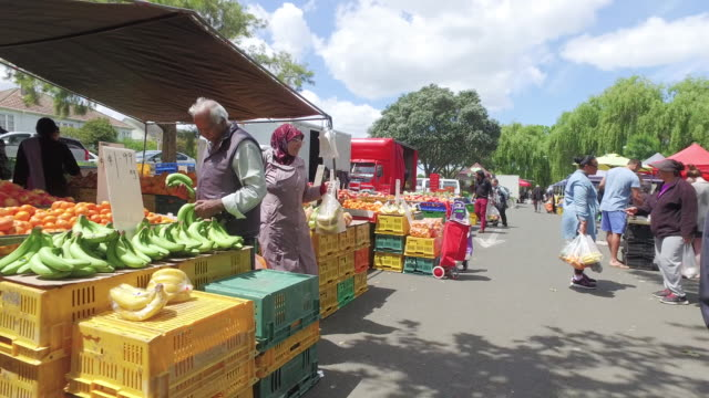 Sunday Vegetable Market, Auckland