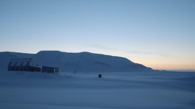 sundown in iceland - barn stock videos & royalty-free footage