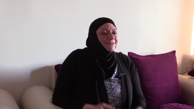 sundus fulfule speaks during an interview in afrin, syria on june 12, 2019. despite years passing since her release, a woman who was jailed by the... - 12 13 years stock videos & royalty-free footage