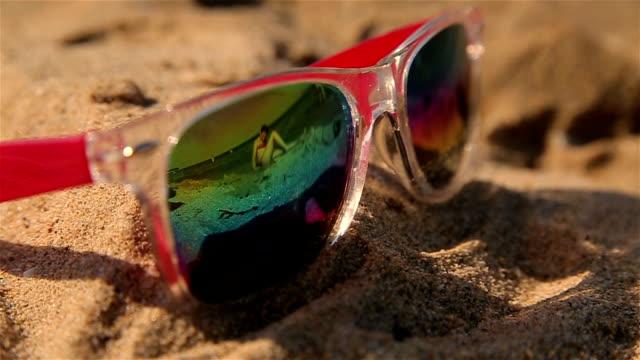 Sunglasses,summer vacation  concept,b roll
