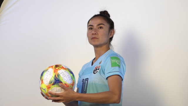 Sunisa Srangthaisong at FIFA Women's World Cup France 2019 Team Portrait Session on June 08 2019 in Reims