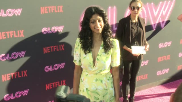 sunita mani at a netflix original series glow los angeles premiere at arclight cinemas cinerama dome on june 21 2017 in hollywood california - cinerama dome hollywood stock videos and b-roll footage