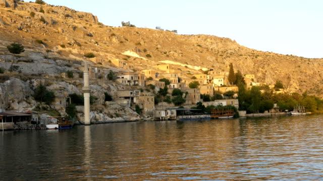 Sunken village Halfeti and Rumkale in Sanliurfa