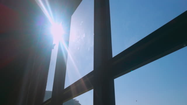 sunlight and flare from windows - sunlight stock videos & royalty-free footage