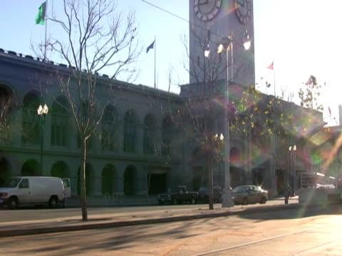 sunlight glistens off tram, streetcar, trolley - trådbuss bildbanksvideor och videomaterial från bakom kulisserna