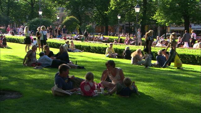 Sunny Days in the Park, Helsinki, Finland