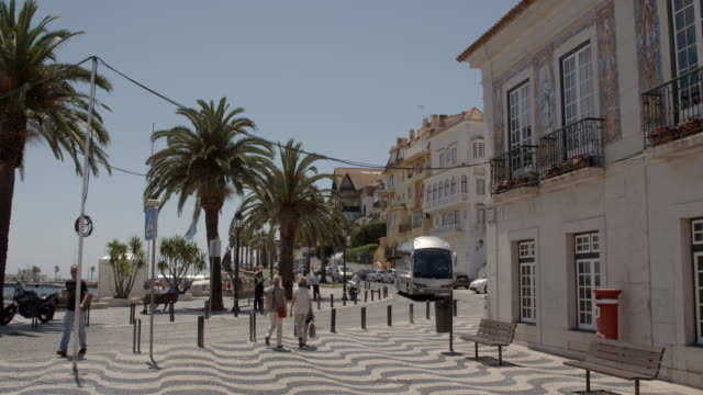 Sunny Lisbon Street