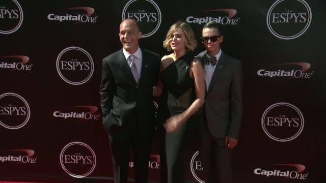 sunny mabrey at the 2014 espy awards in los angeles ca - espy awards stock videos & royalty-free footage