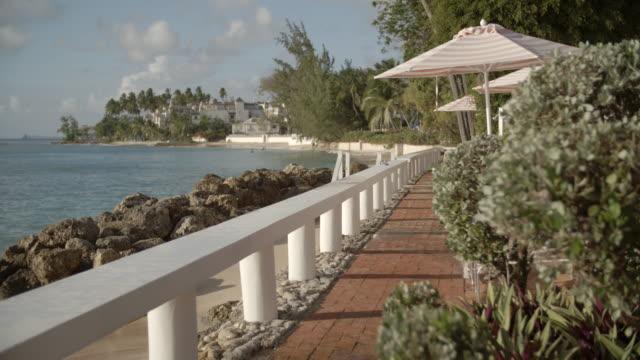 Sunny Resort Shoreline / Barbados, Caribbean