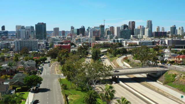 サニーサンディエゴ航空写真 - san diego点の映像素材/bロール