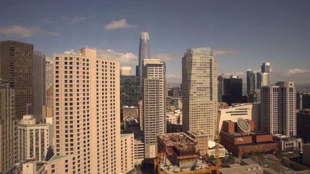 Sunny San Francisco Panning Skyline Video
